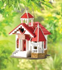 Wedding Chapel Birdhouse What Better Love Nest For A Lucky Pair Of Lovebirds With Its Sweetly Sentimental Styling And Romantic Red White Theme