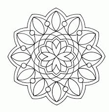 Rangoli Pattern Colouring In Free Coloring Pages Of New Year