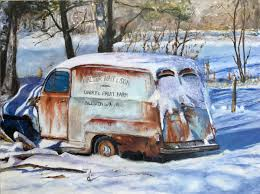Impressionist Oil Paintings: Frozen Milk Truck By Lisa David ... The Us When Previous Vintage Milk Truck For Sale Pinner States My File1947 Divco 01jpg Wikimedia Commons Chillwagon Is A Fullystored 1965 Ice Cream Truck Thompson Dairy 1927 Shorpy Vintage Photography Dicast Majorette 1245 Made In France Funky Milk Stock Photos Royalty Free Images 1935 Ford Another Beauty Of At The 2013 Flickr Bread Delivery Toy Diecast Metal 1930s Photo 3105894 Farm Delivery Engraved Illustration Husbandry Other Makes Cars Abandoned Cars And Trucks Collection Food Tuck Retro Youtube
