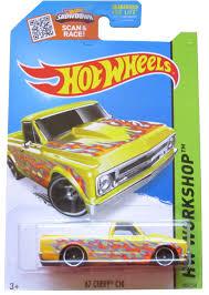 100 Teels Trucks Amazoncom Hot Wheels 2015 HW Workshop 67 Chevy C10 Yellow Die
