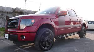 100 2013 Ford Truck FORD F150 FX4 APPEARANCE PACKAGE SUPERCREW 50 V8 RUBY RED