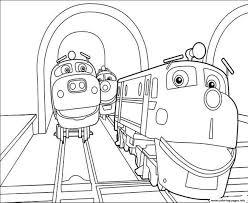 Train Chuggington S6779 Coloring Pages Printable