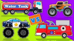 100 Monster Truck Videos Kids Fire For Street Vehicles For