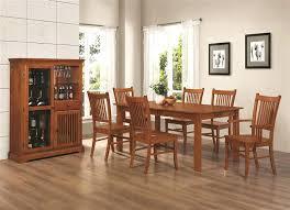 Craftsman Style Dining Room Furniture Mission Country Formal Table Set Slider 0