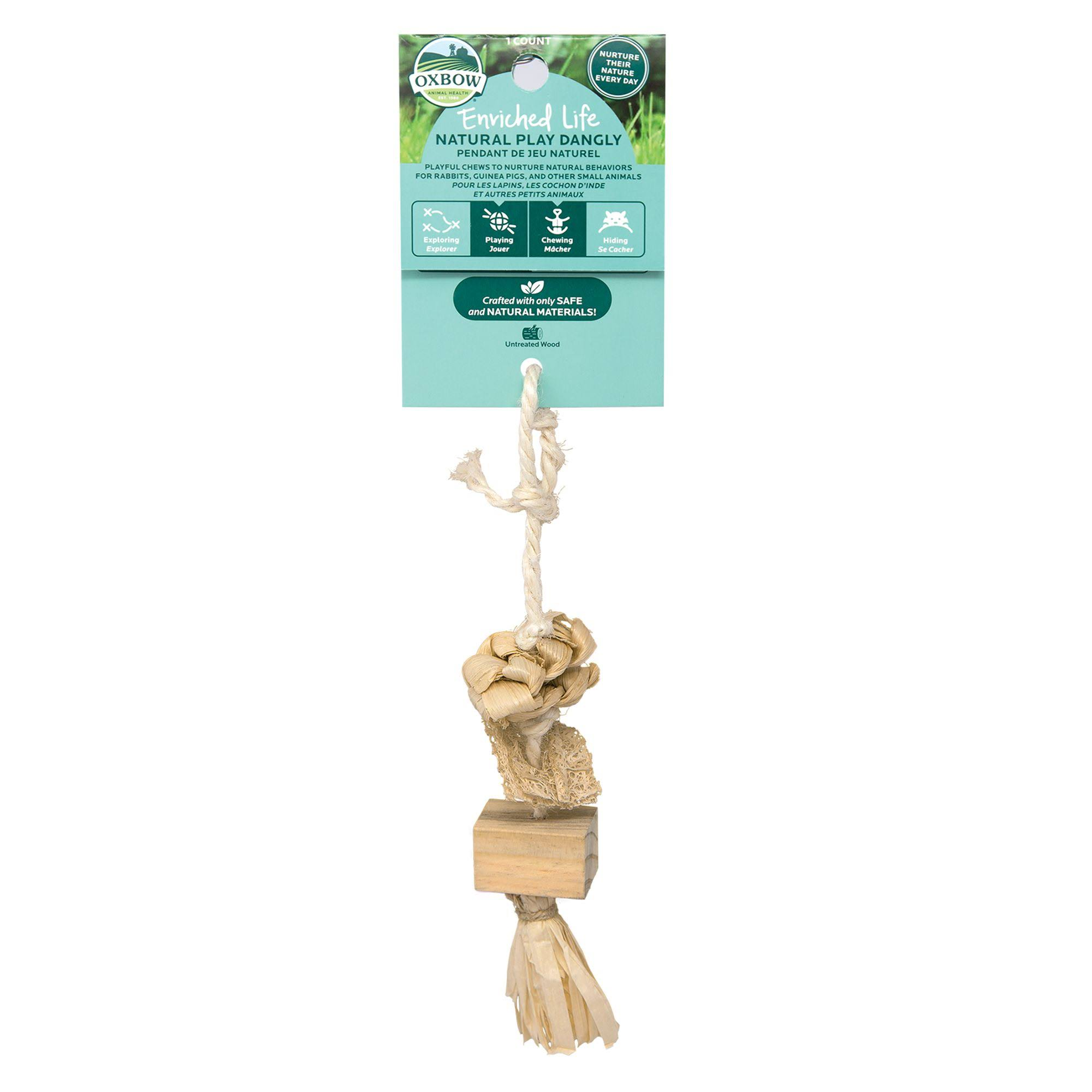 Oxbow 73296322 Small Animal Enriched Life Natural Play Dangly
