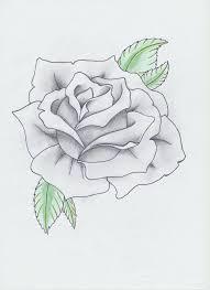 Black and Gray Rose Tattoo by HellDemonDavey on deviantART