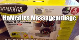 siege massant homedics cbs1000 homedics cbs 1000 eu shiatsu max massageauflage
