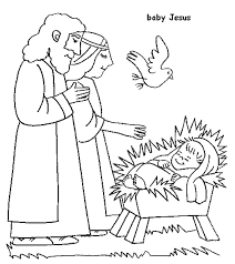 Bible Coloring Pages 1 2