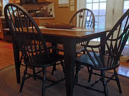 Primitive Kitchen Decorating Ideas by Round Kitchen Table And Chairs Decoration Ideas Awesome Black