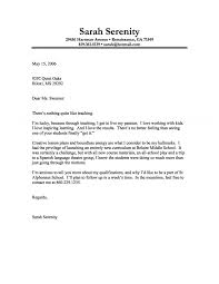 Gallery of teacher cover letter example 10 free documents