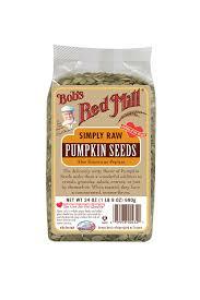 Unsalted Pumpkin Seeds Recipe by Amazon Com Bob U0027s Red Mill Pumpkin Seeds Raw 24 Ounce Packages