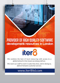 Bold Modern Poster Design For Iter8 By Hih7