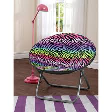 Dish Chair Sherpa Black by Fun Cozy Chairs For Kids Teens And Beyond