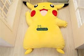 Dorimytrader 220cm X 150cm Japan Anime Pikachu Soft Plush Giant