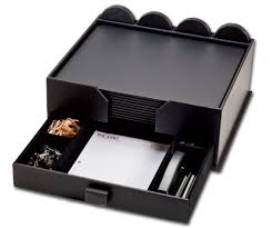 Leather Desk Blotters And Accessories by D1058 Black Leather 23 Piece Combination Conference Room Set