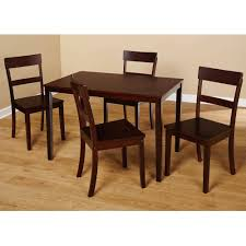 Walmart Dining Room Table by Beverly 5 Piece Dining Set Multiple Finishes Walmart Com