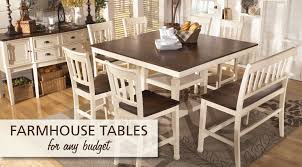 Farmhouse Dining Table Ideas For Every Budget