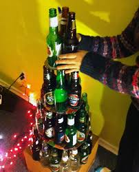 Saran Wrap Christmas Tree With Ornaments by Don U0027t Like Traditional Christmas Trees Try Out One Of These 7