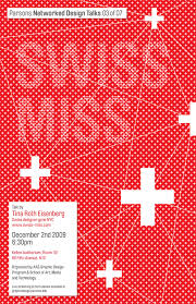 Swissmiss Event Poster Designed By Mirna Raduka AAS Graphic Design Student