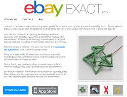 Halloween Contact Lenses Ebay by Ebay Is Latest To Join 3d Printing Craze With New App For
