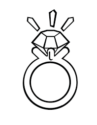 Diamond Coloring Pages Page Pictures Ring Jewelry Minecraft