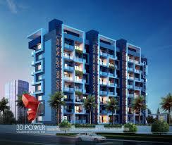 100 Apartment Architecture Design Rendering 3D Contemporary Modern