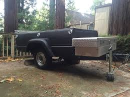 Toyota Truck Bed Trailer with Tool Box CA South Bay Area