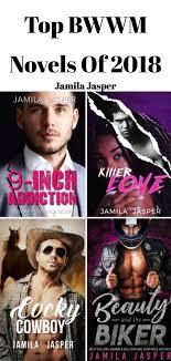 My Four Best Interracial Romance Novels For 2018 Featuring Mafia Billionaire Cowboy And MC Biker All ALPHAS