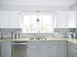 clear tile backsplash interior grey glass tile gray subway