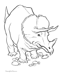 Impressive Dinosaurs Coloring Pages Cool And Best Ideas