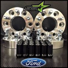 100 4 Wheel Truck Parts WHEEL SPACERS 6X135 15 INCH FORD F150 EXPEDITION RAPTOR 2 BLACK