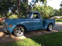 100 1971 Chevy Truck C10 Stepside With Torq Thrusts