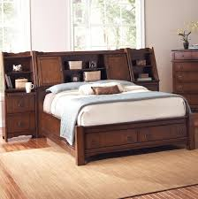 White King Headboard With Storage by Bedroom Decorative King Size Transitional Varnished Solid Wood