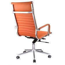 Amazon.com: Orange High Back Ribbed PU Leather Office Chair ... Traditional Armchair Fabric Wing Highback Zo Highback Pubg Game Leather Racing Orange And Black Office Gaming Chair Buy Newest Design Ergonomic Fniture Corliving And High Back Sports Fitness Video Chairs Mieres Vinz Mesh Swivel 01 Hot Item Cozy Leisure In Color Armchair With Solid Ash Wood Base Details About Pu Computer Seat Clearance Emall Life Fabric Metal Executive Armrest Amoebehighbackchairvnerpantonvitra3 Jeb Cougar Armor S Luxury Breathable Pair Of Majestic High Back Chair 2490 Each Lythrone
