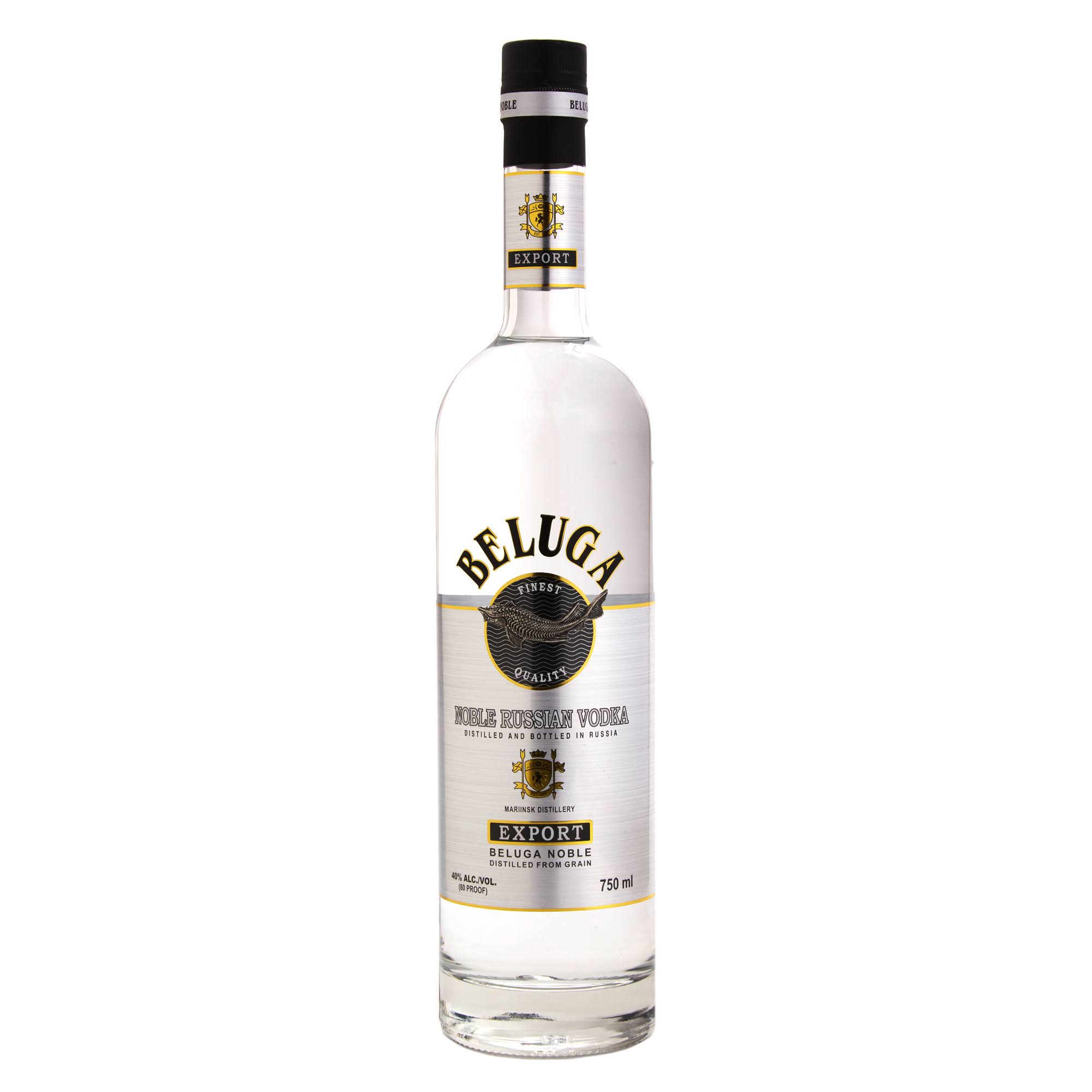 Beluga Noble Russian Vodka - 750 ml bottle