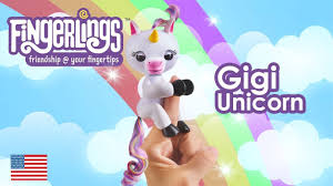 Gigi Unicorn Fingerlings Baby Monkeys Toys Surprise Licorne Magique Magical Unicornio Jail Game