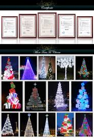 Spiral Lighted Christmas Tree by Led Spiral Tree Outdoor Metal Frame Giant Christmas Tree White Red