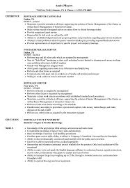 Beverage Server Resume Samples | Velvet Jobs Example Waitress Resume Restaurant Sver Sample Monstercom Rumes For Food Svers Qualified Examples Service Objective Inspirational Restaurant Resume Objective Examples Kozenjasonkellyphotoco Floating Skills Awesome Image Collection Exelent 910 Food Sver Skills Samples Pin On Template And Format How To Write A Perfect Included Hairstyles For Stunning