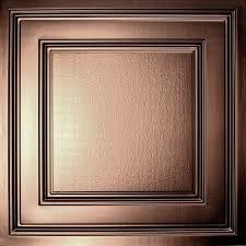 Drop Ceiling Tiles 2x4 Asbestos by Oxford Faux Metal Ceiling Tiles Bronze