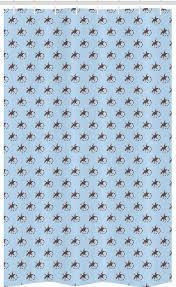 abakuhaus duschvorhang badezimmer deko set aus stoff mit haken breite 120 cm höhe 180 cm gecko illustration lizards kaufen otto