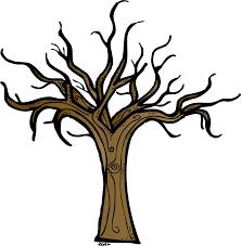 Brown Bare Tree Clip Art