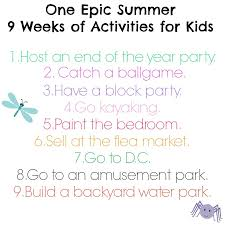 Just Dude It 30 Things To Do In Summer With Kids