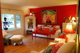 Red Living Room Ideas by Color Decorating Ideas For Living Rooms With Red House Decor Picture