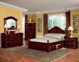 Dark Cherry Bedroom Furniture DecorI Like This And Yellow Walls