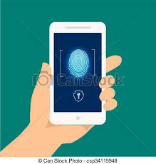 Finger print smart phone access lock screen fingerprint eps