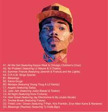 Chance The Rapper Coloring Book AAA Recordings Vinyl Record