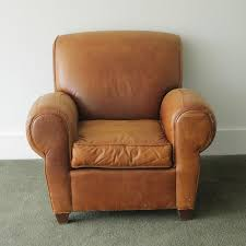 Leather Reclining Chair from Pottery Barn EBTH
