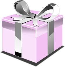 t present pink birthday