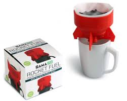 You Dont Need A Fancy Coffee Machine To Make Single Cup Of With The Rocket Fuel Pour Over Brewer Simply Insert Standard Filter In