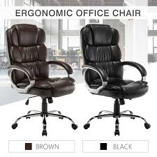 PU Leather High Back Office Chair Executive Task Ergonomic Computer Desk Soho Sardinia Highback Executive Chair Pu Leather High Back Office Task Ergonomic Computer Desk Titan Big And Tall Sierra Office Chair Grey Microfiber High Back Executive Modern Best Mesh With Headrest Buy Chairergonomic Chairoffice Mocha Eco Ergodynamic Sumo Faux Black Ofm Collection Model 500l By Flash Fabchair Ayrus With Extra Cushion Color Upholstery Center Tilt Mechanism Chrome Plated Premium Base